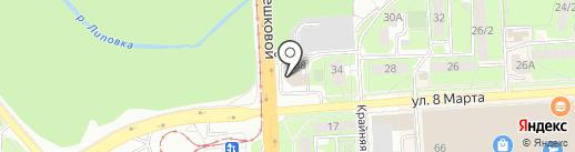 Память на карте Липецка