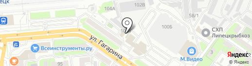 ВидеоКом на карте Липецка