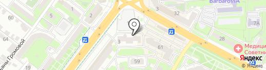 Mobi-Help на карте Липецка