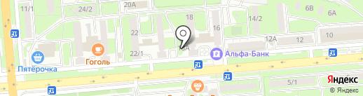 Витус на карте Липецка