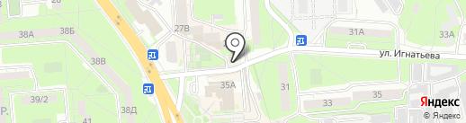 Советник+ на карте Липецка