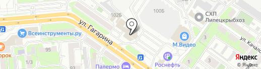 Salon Market на карте Липецка