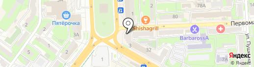 Lipetsk Mobile на карте Липецка