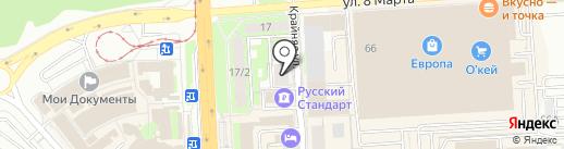 Прайм на карте Липецка