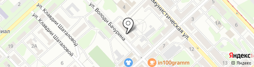 Строительная компания на карте Липецка