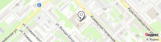 Леонов В.Л. на карте Липецка