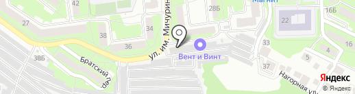 Сауна на карте Липецка