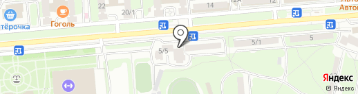 Salottino на карте Липецка