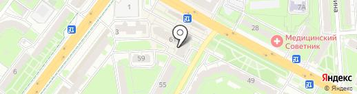 БИНБАНК на карте Липецка