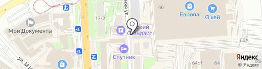 Советский районный суд г. Липецка на карте Липецка