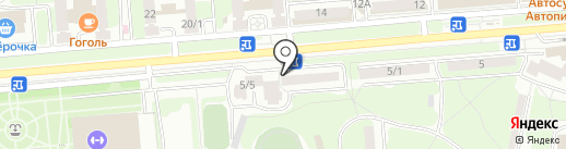 Наоми на карте Липецка
