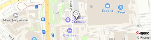 Proдвижение на карте Липецка