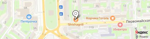 Terkin PizzaPub на карте Липецка