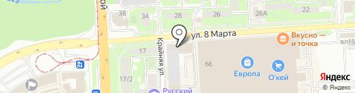 Актив на карте Липецка