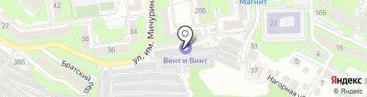 100 ворот на карте Липецка