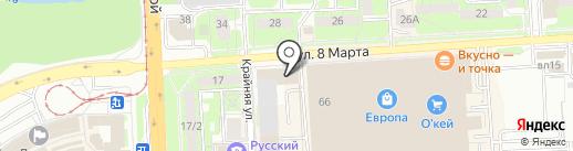 АбариДез на карте Липецка