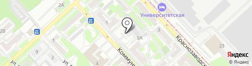 Регистрационно-вычислительный центр г. Липецка на карте Липецка