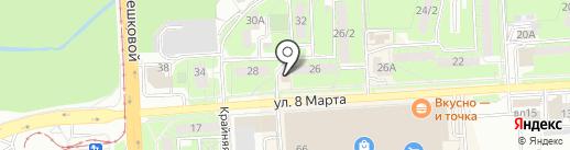 1XСтавка на карте Липецка