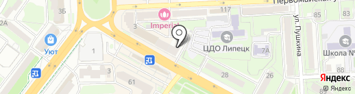 Православный магазин на карте Липецка