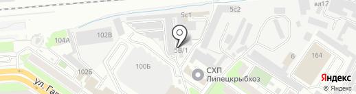 СэтПак на карте Липецка