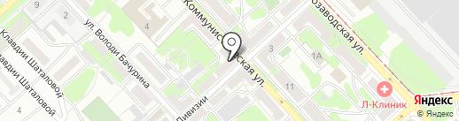 Интерьер на карте Липецка