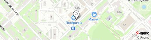 Универсал на карте Липецка