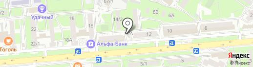 AutoPartsFast.ru на карте Липецка
