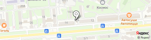 Юридический кабинет Травки П.А. на карте Липецка