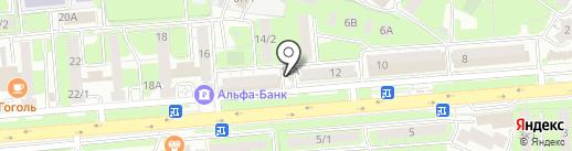 Фонбет на карте Липецка