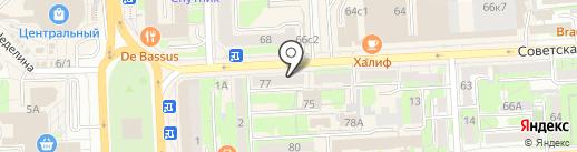 Organic shop на карте Липецка