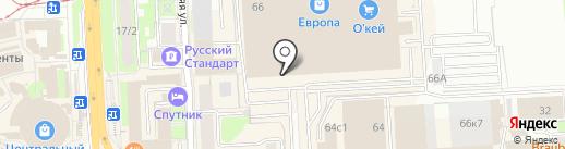 The iStore на карте Липецка