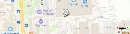NETBYNET на карте Липецка