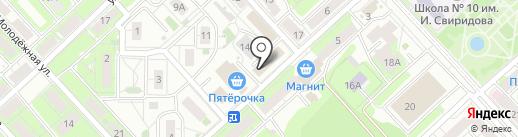 ВЫБОР на карте Липецка