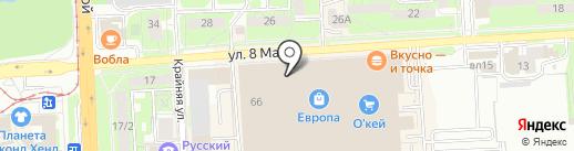 Coffee Space на карте Липецка
