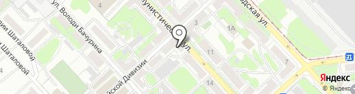 Ателье швейное на карте Липецка