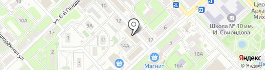 Мастерская по ремонту обуви на карте Липецка