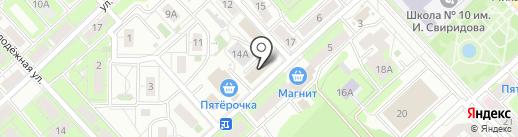 Партнеры на карте Липецка