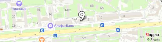 Керхер центр на карте Липецка