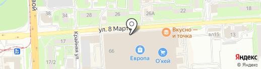 Event на карте Липецка