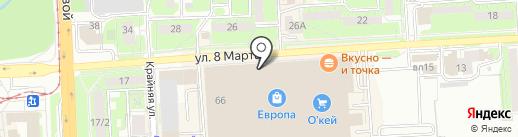 ЭкоЛавка на карте Липецка