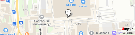 NPS на карте Липецка
