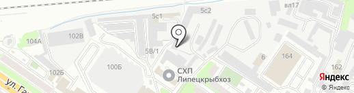 Липецкий областной центр по гидрометеорологии и мониторингу окружающей среды на карте Липецка