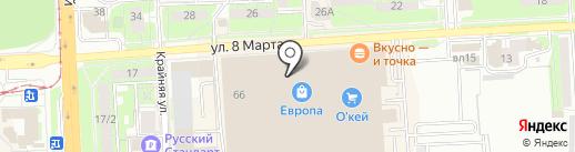 Legion на карте Липецка