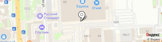 Studio на карте Липецка