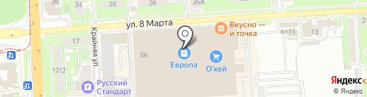 Absolutex на карте Липецка