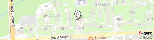 Газпром Межрегионгаз Липецк на карте Липецка