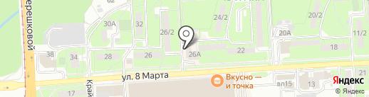 Юридическое агентство на карте Липецка