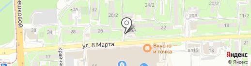 New look на карте Липецка