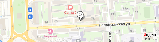 Svetlana Zaitseva на карте Липецка