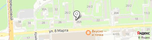 Проект-Удачный Ремонт на карте Липецка